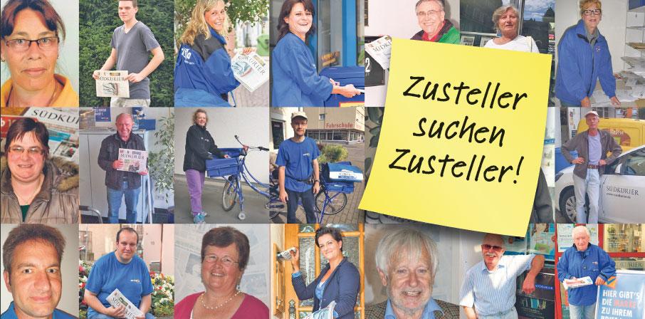 DKZ DL Konstanz zusteller suchen zusteller