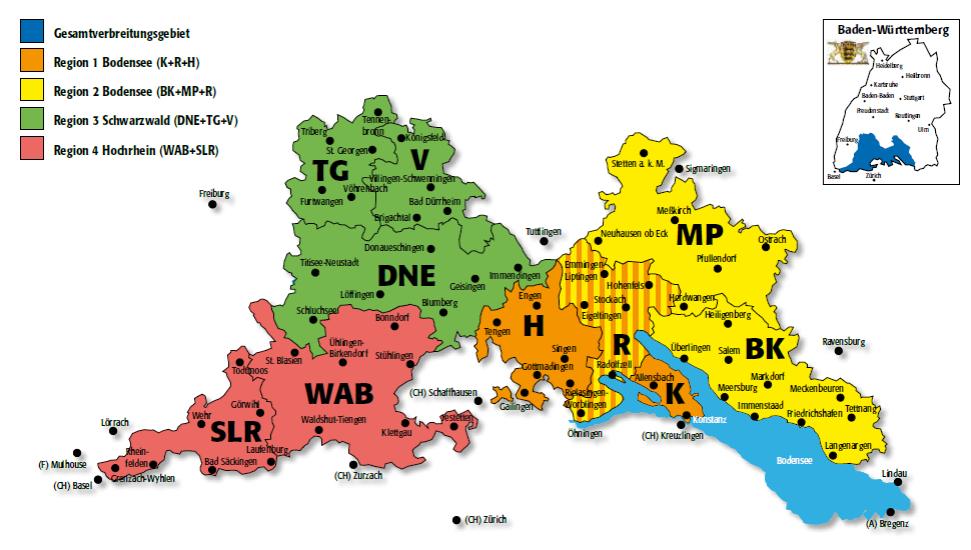 DKZ DL Konstanz Gesamtverbreitungsgebiet